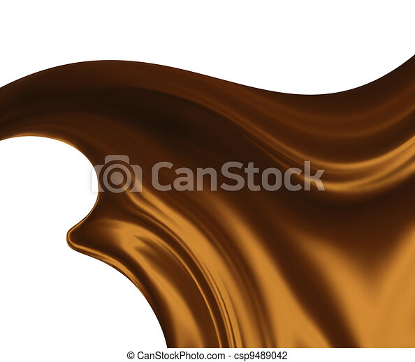melted chocolate - csp9489042