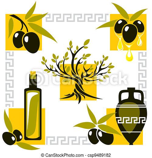 greece olive - csp9489182