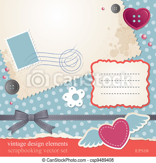 scrap-booking set - csp9489408