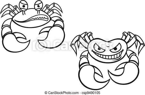 Cartoon crabs - csp9490105