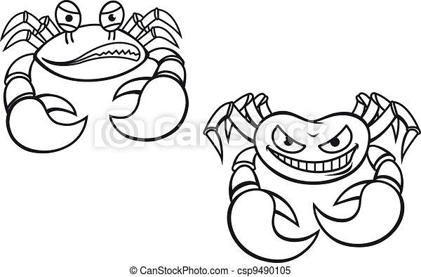Cartoon crabs - csp9490105