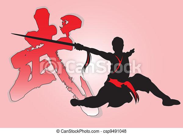 Chinese Kung-Fu. - csp9491048