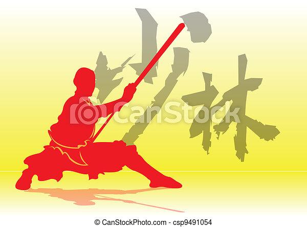 Chinese Kung-Fu. - csp9491054