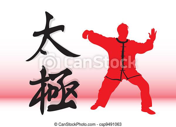 Chinese Tai-Chi. - csp9491063