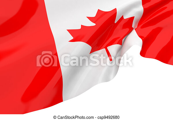 Vector Flags of Canada - csp9492680
