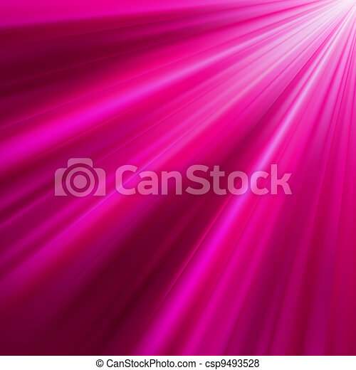 Purple luminous rays. EPS 8 - csp9493528