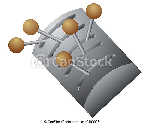 vector lever switch - csp9493906