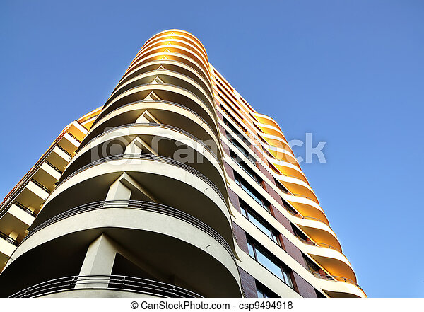 High-rise building - csp9494918