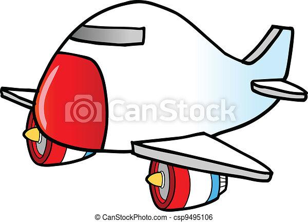 Jumbo Jet Vector  - csp9495106