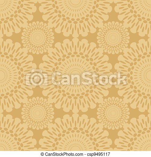 seamless lace background - csp9495117
