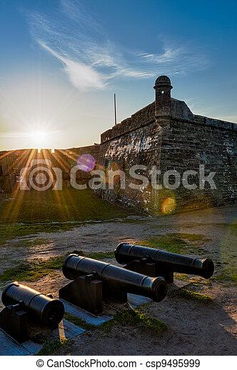 Historic San Marcos Castle - csp9495999
