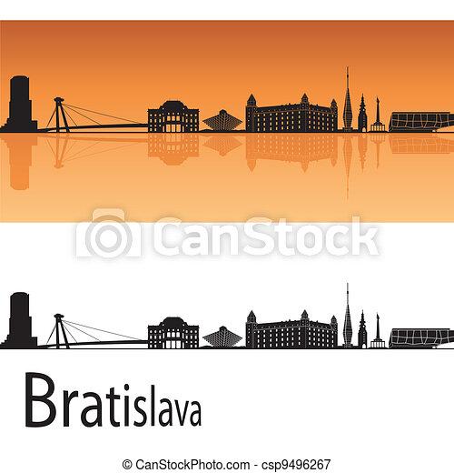 Bratislava skyline - csp9496267