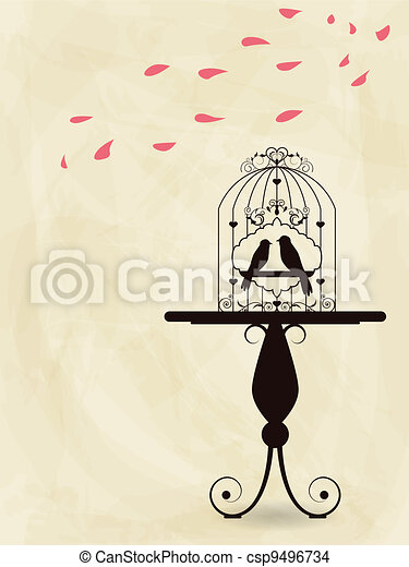 Bird cage - csp9496734