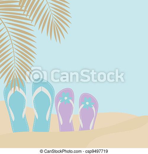 Love on the Beach - csp9497719