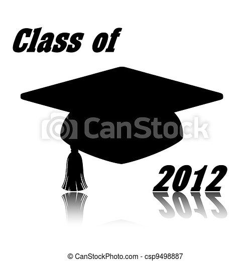 Class of 2012 illustration - csp9498887