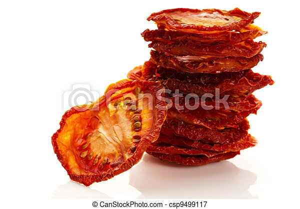 Italian sun dried tomatoes - csp9499117
