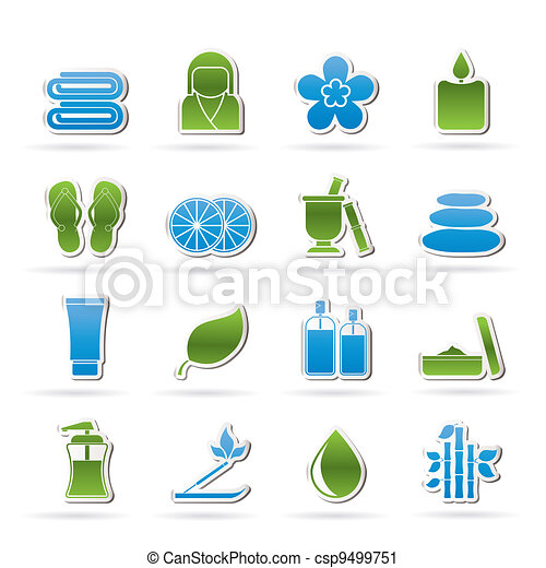 Spa objects icons - csp9499751