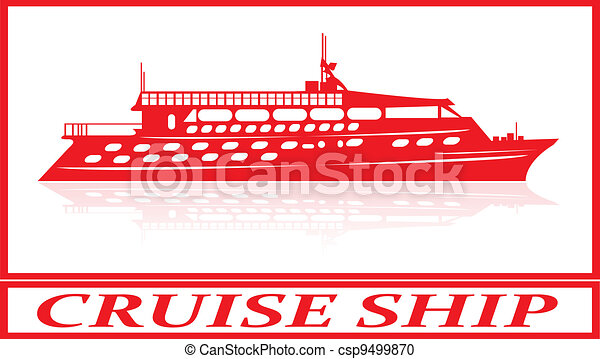 Cruise ship. - csp9499870