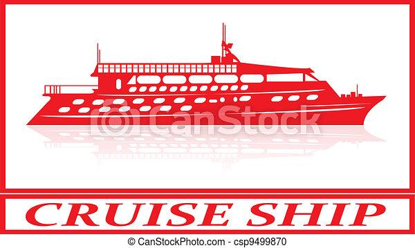 Cruise ship. - csp9499870
