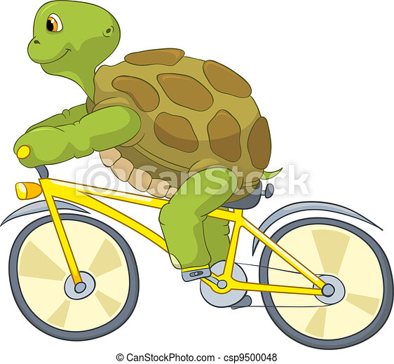 Vecteur de rigolote tortue motard dessin anim - Image tortue rigolote ...