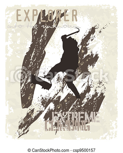 extreme climbing - csp9500157