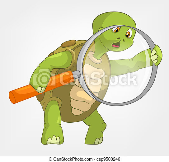 Clip art vecteur de rigolote tortue conclusion dessin - Image tortue rigolote ...