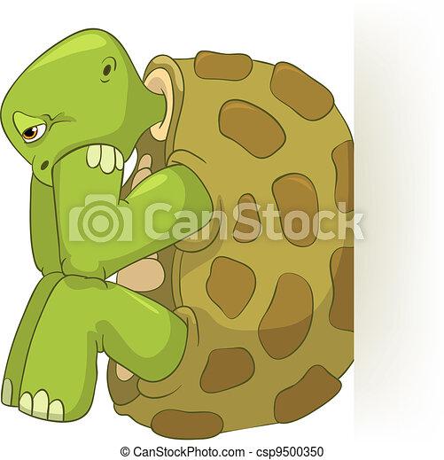 Rigolote tortue confusion vecteur instant download - Image tortue rigolote ...