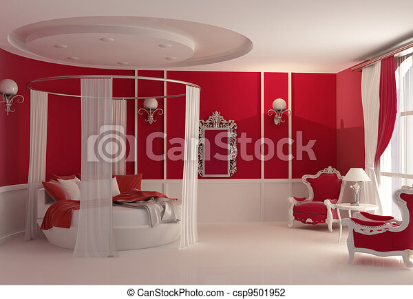 illustration meubles luxe chambre coucher banque d 39 illustrations illustrations libres. Black Bedroom Furniture Sets. Home Design Ideas