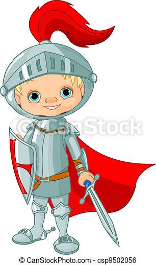 Medieval knight  - csp9502056