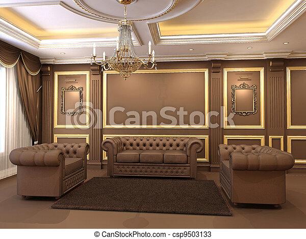 Photos de d coratif dor plafond appartement luxe for Decoration gypse marocain