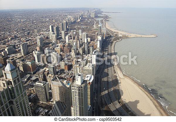 Chicago Northern Shoreline - csp9503542