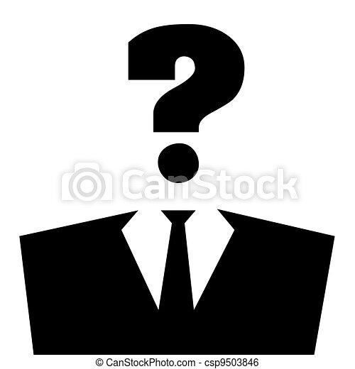 Question Person Clipart
