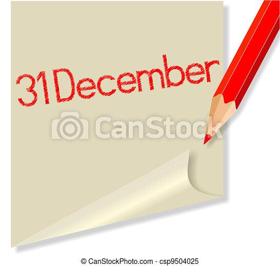 December 31 - csp9504025