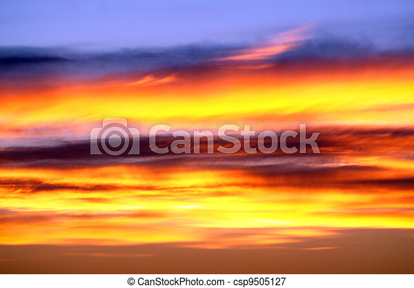 Daytime - Sunrise and Sunset - csp9505127