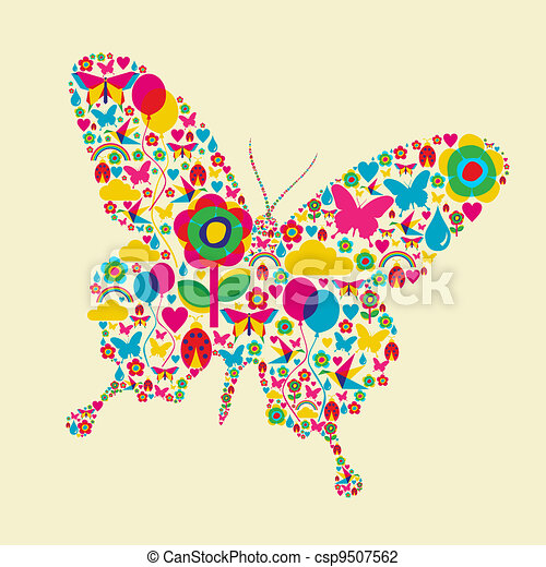 Spring time butterfly - csp9507562