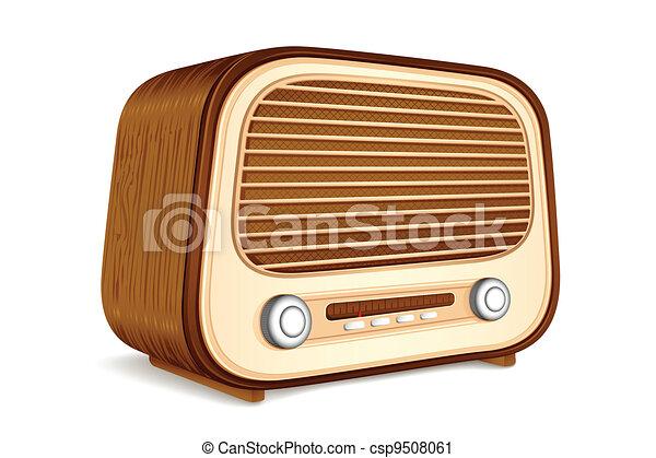 Antique Radio - csp9508061