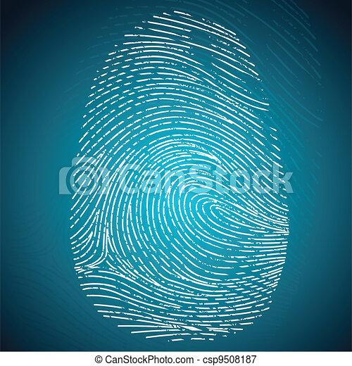 Finger Print - csp9508187