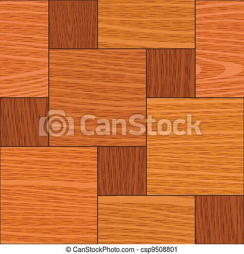 seamless light oak square parquet panel texture - csp9508801