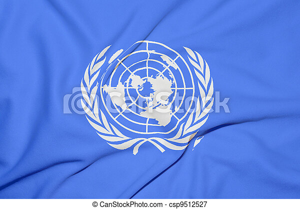 United Nations flag - csp9512527