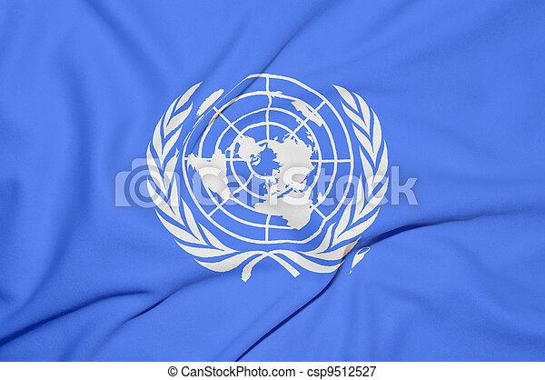 United Nations flag - csp9512527