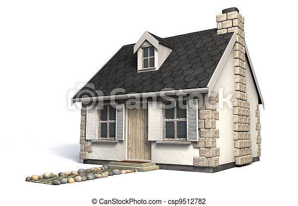 Quaint Little Cottage - csp9512782