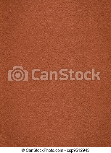 Brown leather skin background - csp9512943