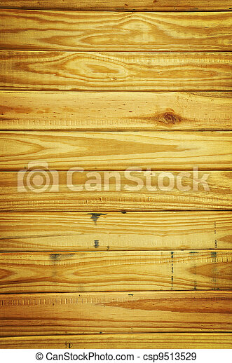 old grunge wood panels used  - csp9513529