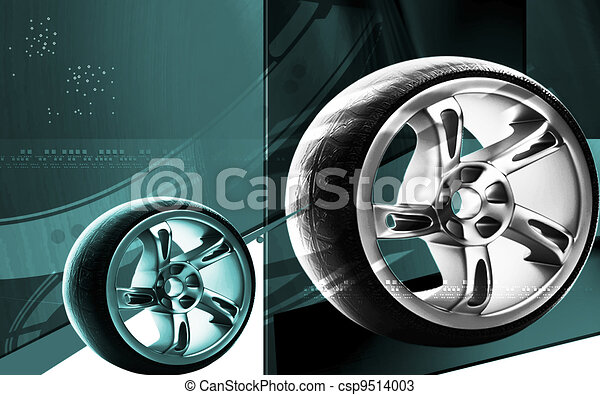 Alloy wheel	 - csp9514003