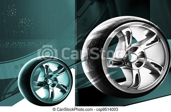 Alloy wheel - csp9514003