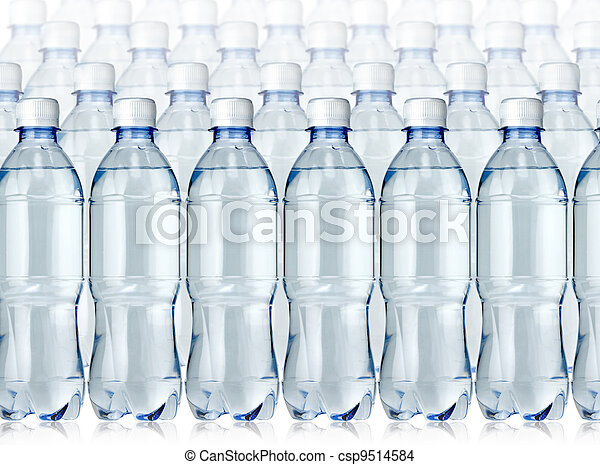 Bottles of water  - csp9514584