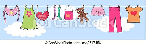 baby children header fashion - csp9517458