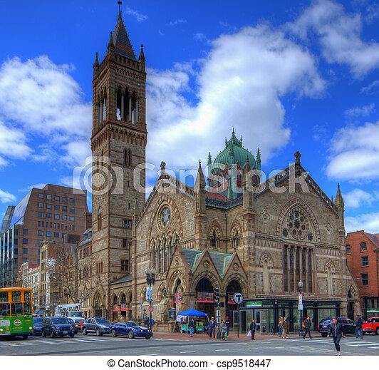 老, 南方, 教堂 - csp9518447
