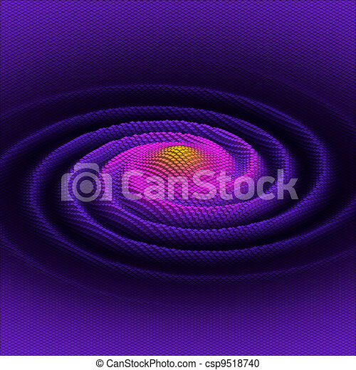 abstract 3d vector  galaxy - csp9518740