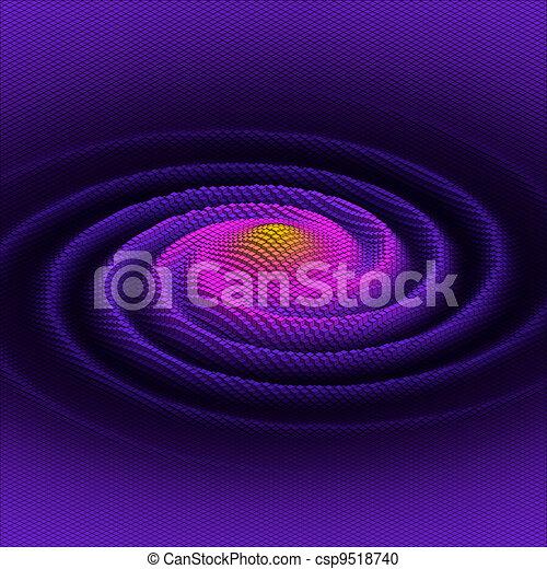 abstract 3d vector  galaxy - csp9518740